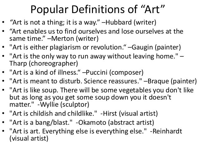 What is Art? | teaching techniques | Art, Define art