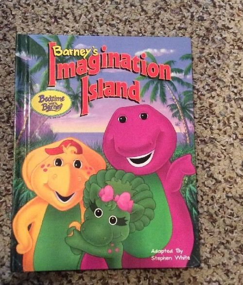 Barney S Imagination Island Book Bedtime With Barney Barney Bedtime Barney Friends