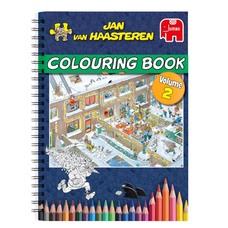 Fan Van De Puzzels Van Jan Van Haasteren Of Gewoonweg Dol Op Kleuren Dit Kleurboek Voor Volwassenen Heeft 64 Pagi Kleurboek Volwassen Kleurboeken Kleurplaten