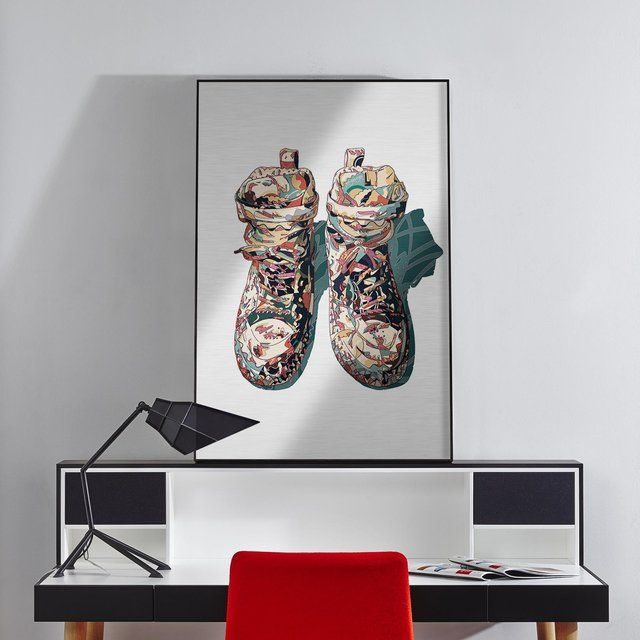 Fancy - Sneaker Print on Metal by HR-FM | Niiiice! | Pinterest