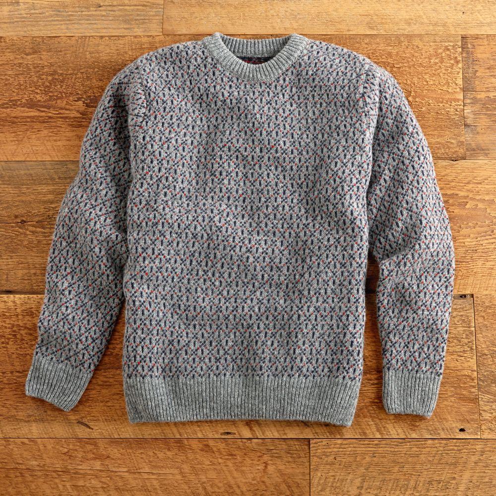 Scottish Classic Fisherman Sweater | Shetland wool and Patterns