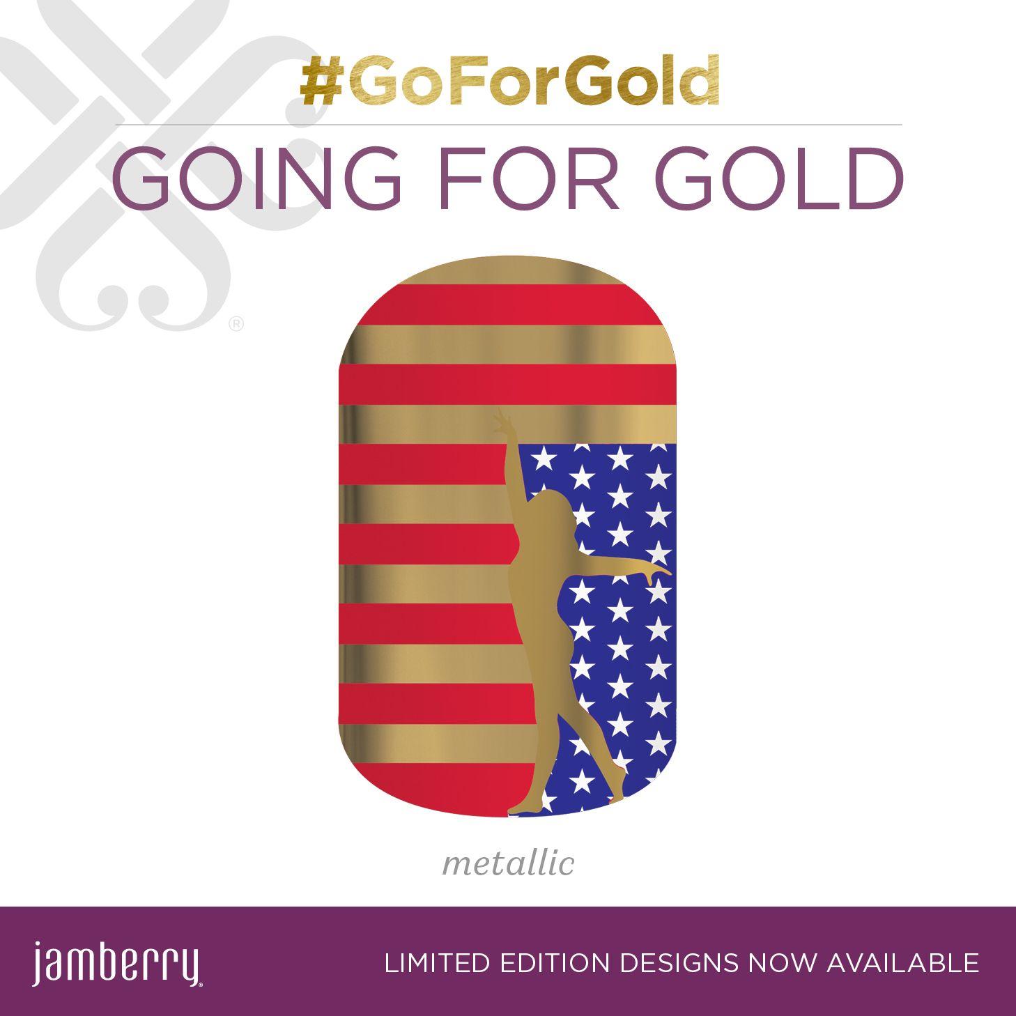 Going for gold, Vinyl nail art, Gold design