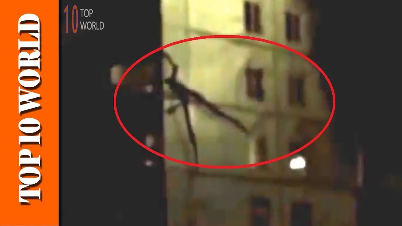 Top 10 Slender Man real life sightings caught on camera ...
