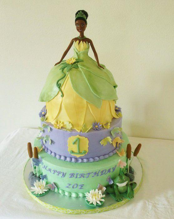 Tiana S Cake By Bocadulce Cakesdecor Com Cake Decorating
