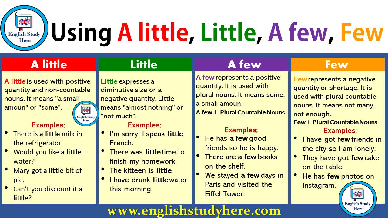 a little vs little