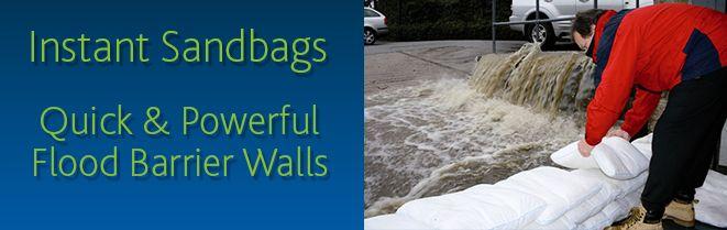 Floodsax Instant Sandless Sandbags Alternatives Flood Protection Flood Barrier Flood Protection Flood