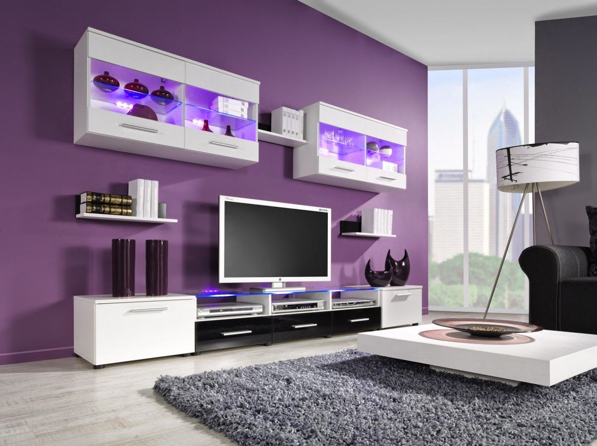 Awesome Purple Living Room Ideas  Awesome Purple Living Room Impressive Purple Living Room Designs Inspiration Design