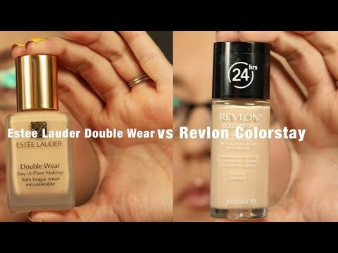 In The Ring: Estee Lauder DoubleWear vs. Revlon Colorstay