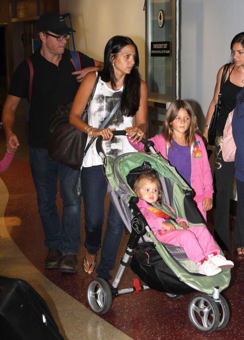 Matt Damon Amp Baby Jogger City Mini Stroller Celebrity