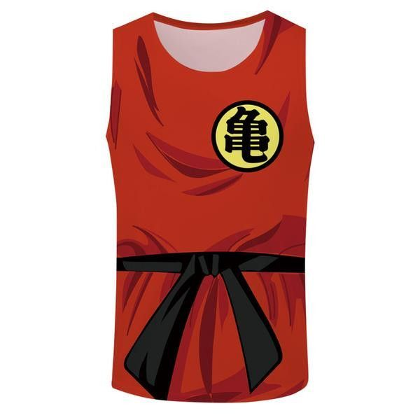 Goku Master Roshi Symbol Top Tank
