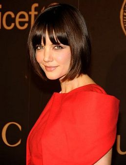 Katie Holmes Hairstyles Captivating Katie Holmes' Hair Evolution  Bobs Bob Hairstyle And Haircuts