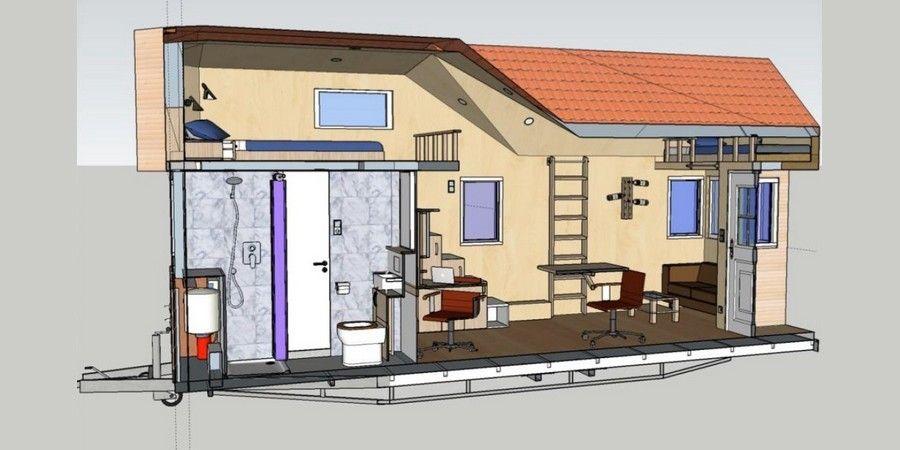 Haus Auf Rädern mobiles minihaus rolling tiny house informationen und angebote