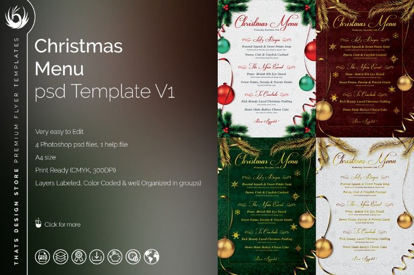20+ Food and Drinks Menu Template PSD, EPS and InDesign Format ...