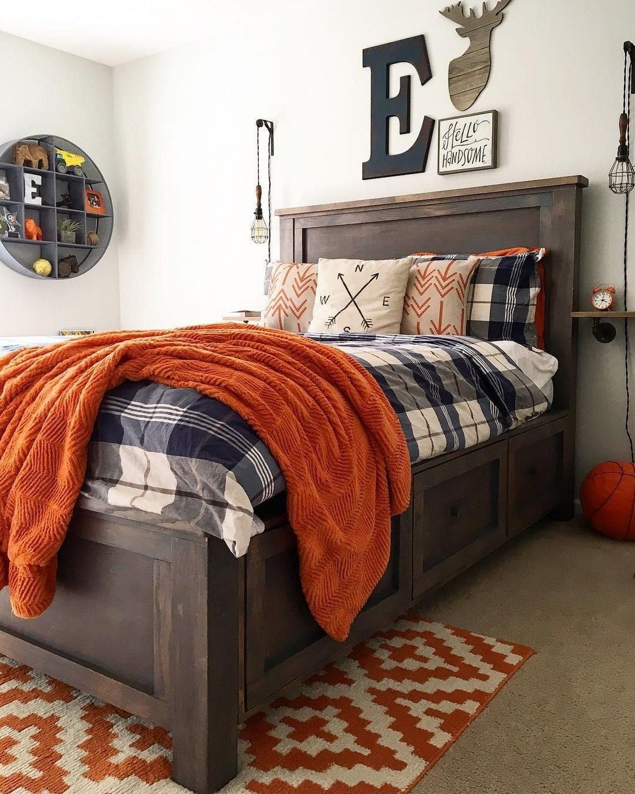 60+ Amazing Cool Bedroom Ideas For Teenage Guys Small ...