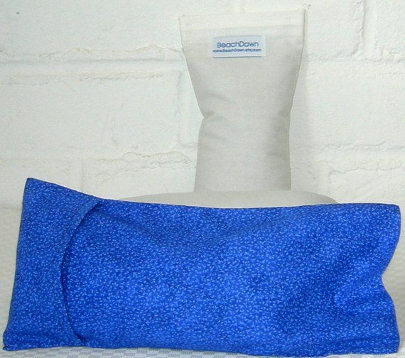 Aromatherapy Eye Pillow In Muslin With Hoop And Loop
