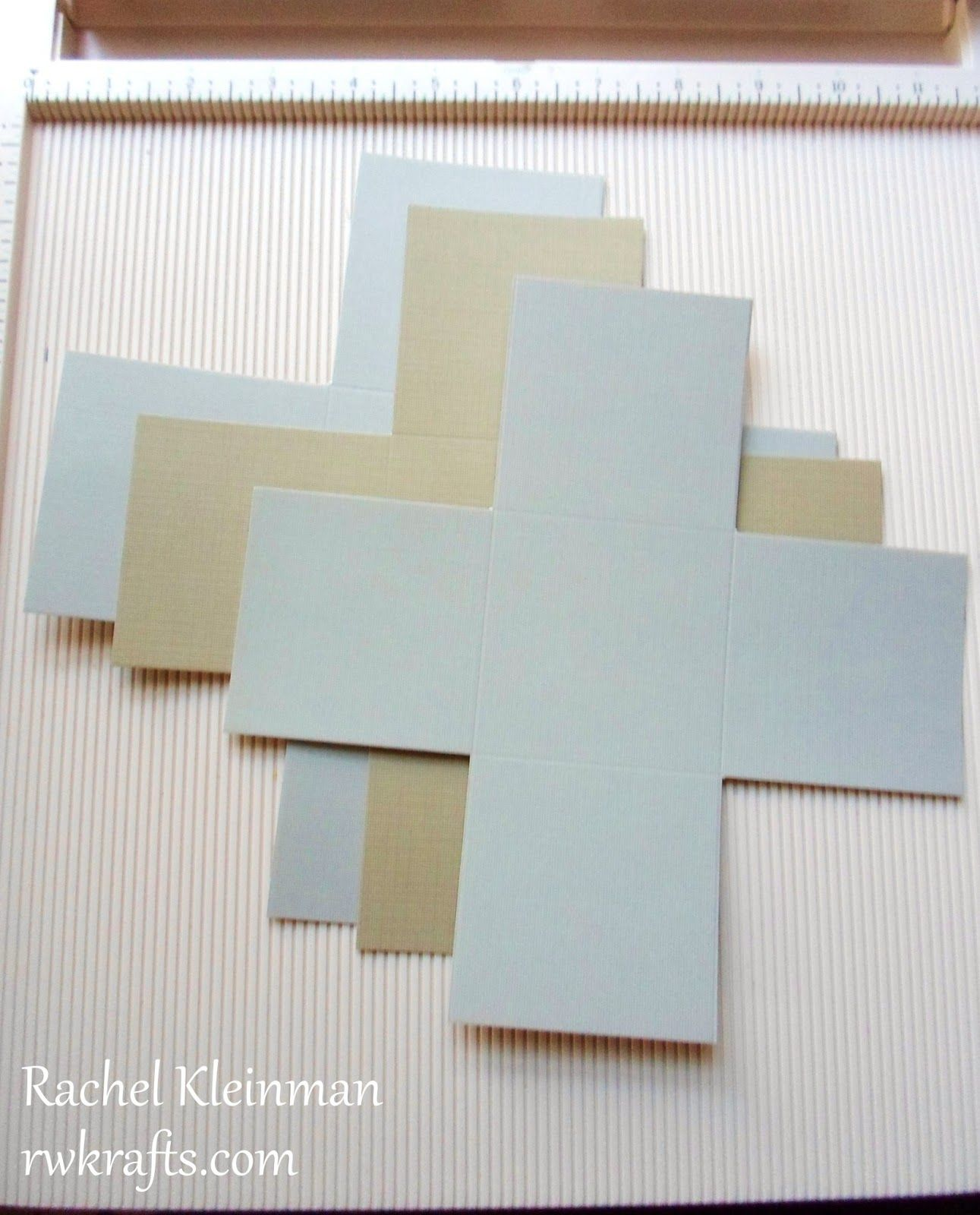 How to make scrapbook box - Rwkrafts How To Tuesday Make An Exploding Scrapbook Box