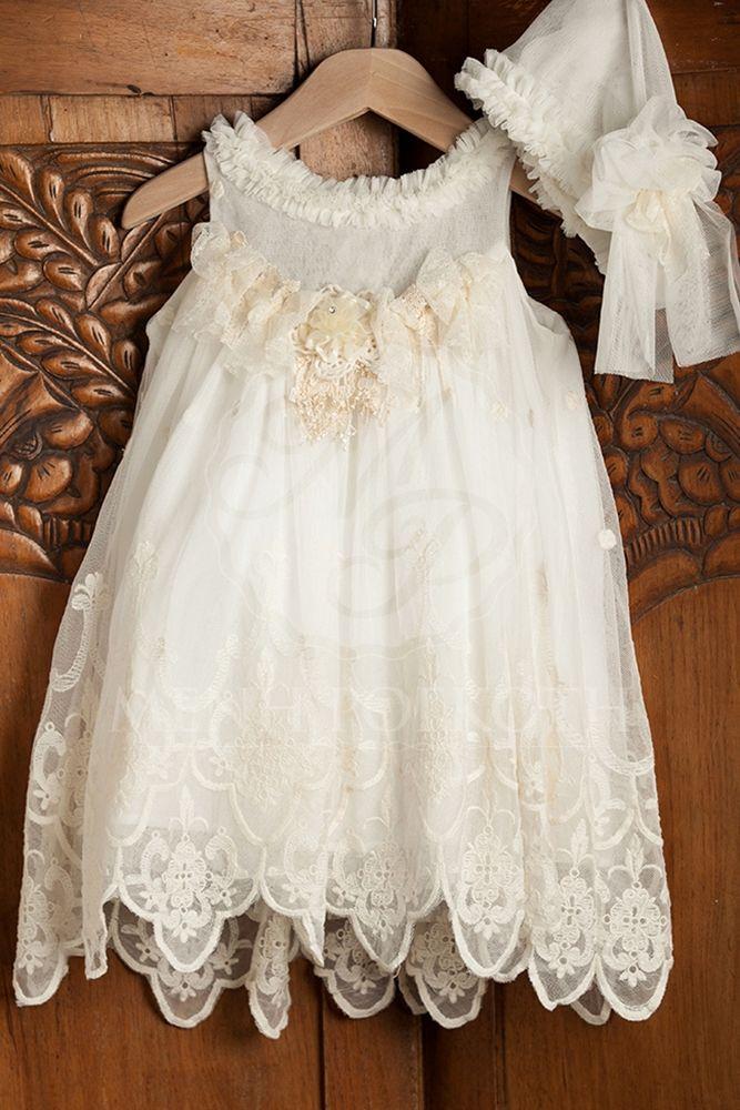 d9bf0ca6e57 Βαπτιστικά ρούχα για κορίτσι της ΝEONATO | Υψηλή ραπτική | Vestidos ...