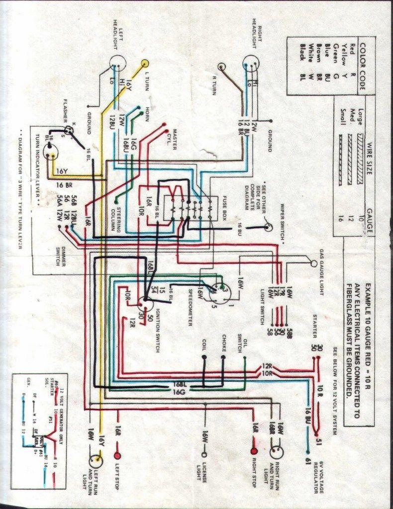DIAGRAMAS ELECTRICOS VOCHO | bochos | Vocho, Eléctrico y Motos
