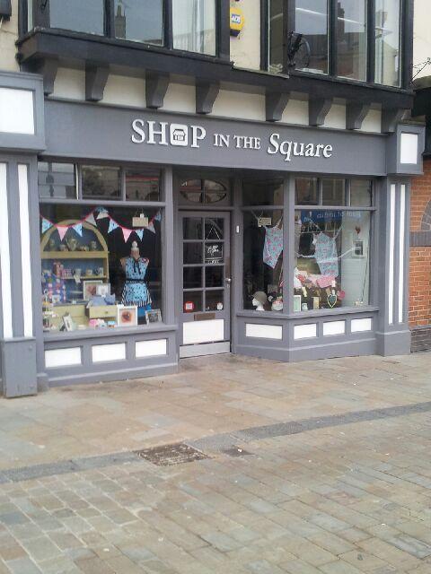 Shop in square, Wolverhampton UK
