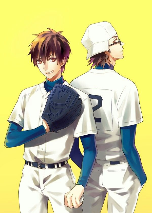 Diamond No Ace Sawamura Eijun Miyuki Kazuya Sports Anime Hell