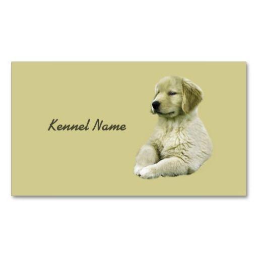 Golden Retriever Breeder Business Card Zazzle Com Breeder