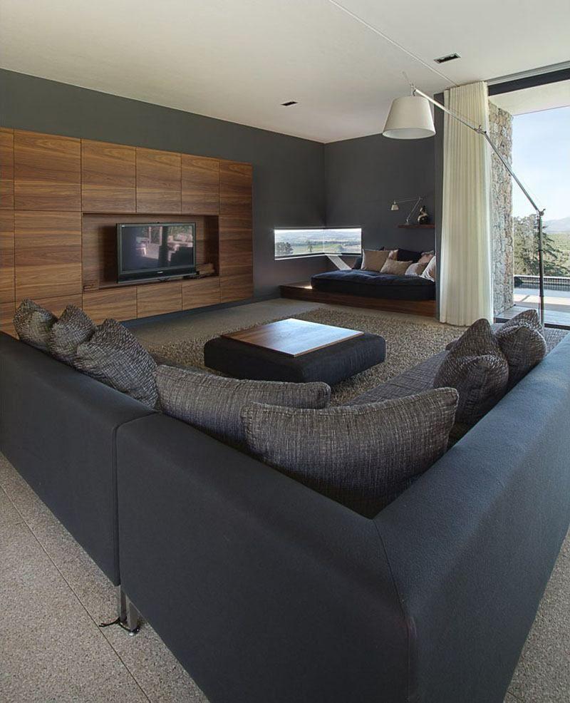 Salon Cosy 7 Astuces Pour Une Ambiance Bien Chaleureuse Dans Le  # Meuble Tv Architecte