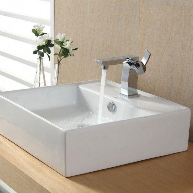 Bathroom, Square Bathroom Sinks Bathroom Sink Mdoels Design Ideas