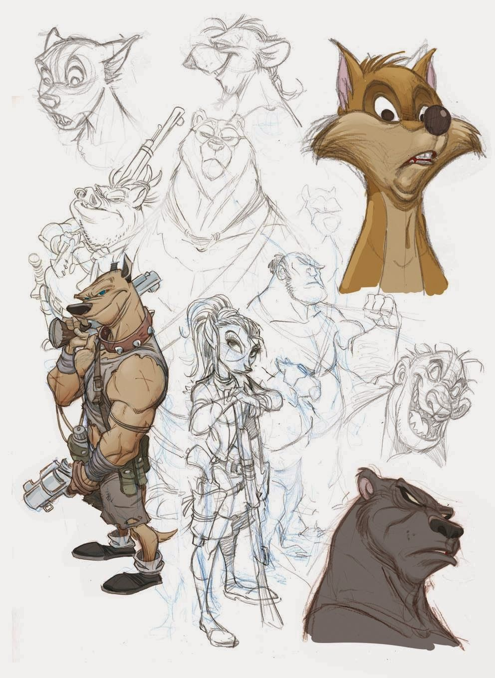 By Oscar Martn 2d Characters And Creatures In 2018 Pinterest Exploded View Diagram Randal Birkey Illustration