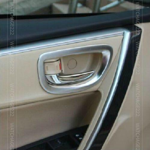 Fit For 2014 Toyota Corolla Altis Chrome Interior Inside Door Handle Trim Cover Interior Accessories Corolla Altis Toyota Corolla