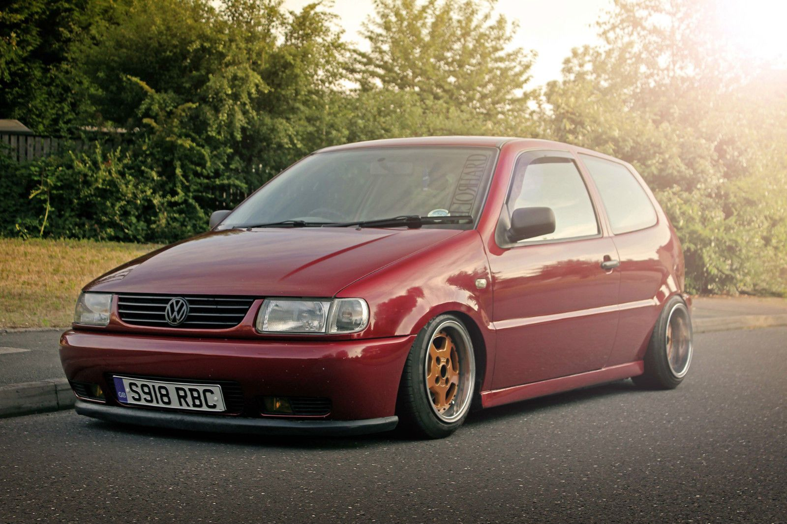 details about vw polo 1 4 6n modified lowered one off. Black Bedroom Furniture Sets. Home Design Ideas