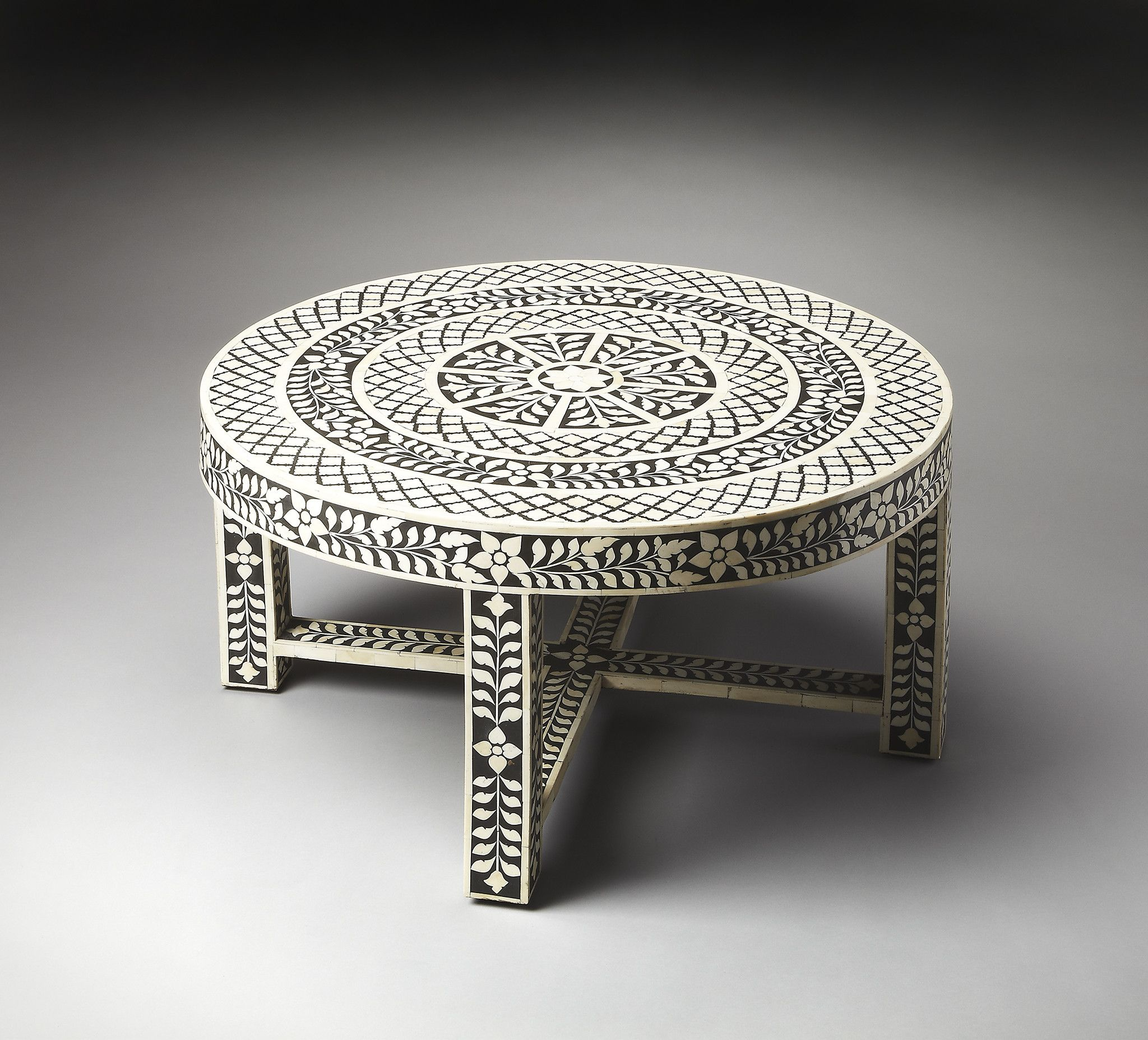 Butler Specialty Bone Inlay Cocktail Table 3225070