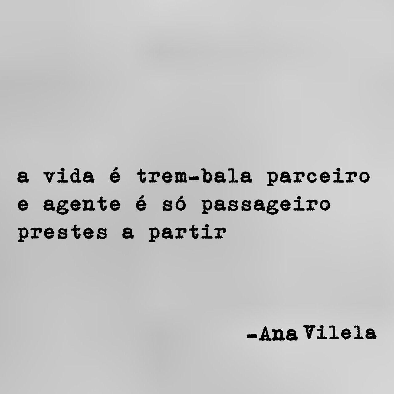 trem-bala Ana Vilela