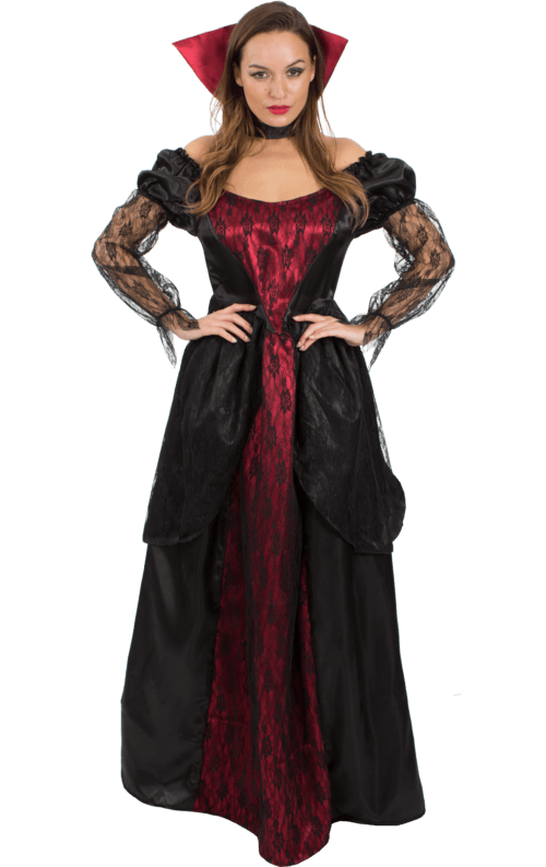 Adult Halloween Vampiress Costume Simply fancy dress