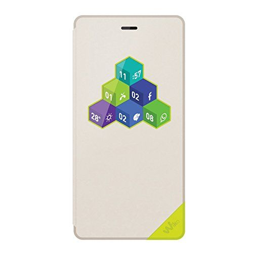 cool Wiko 96231Original Robby wicube Flip Cover