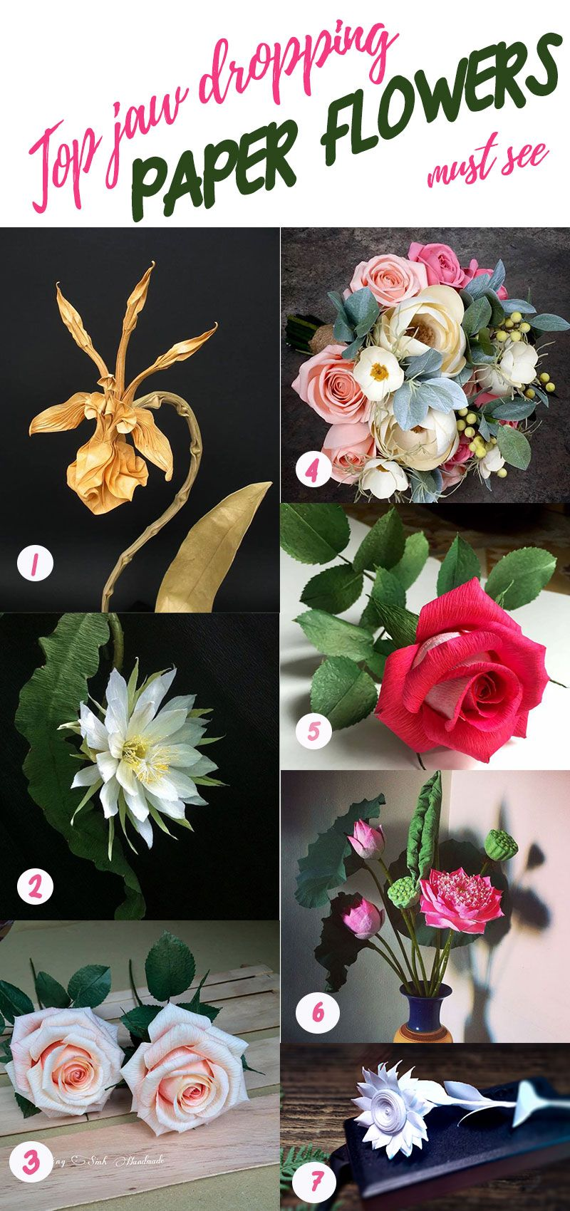 Best paper flowers you will see with jaw drop must see flower best paper flowers you will see with jaw drop must see mightylinksfo