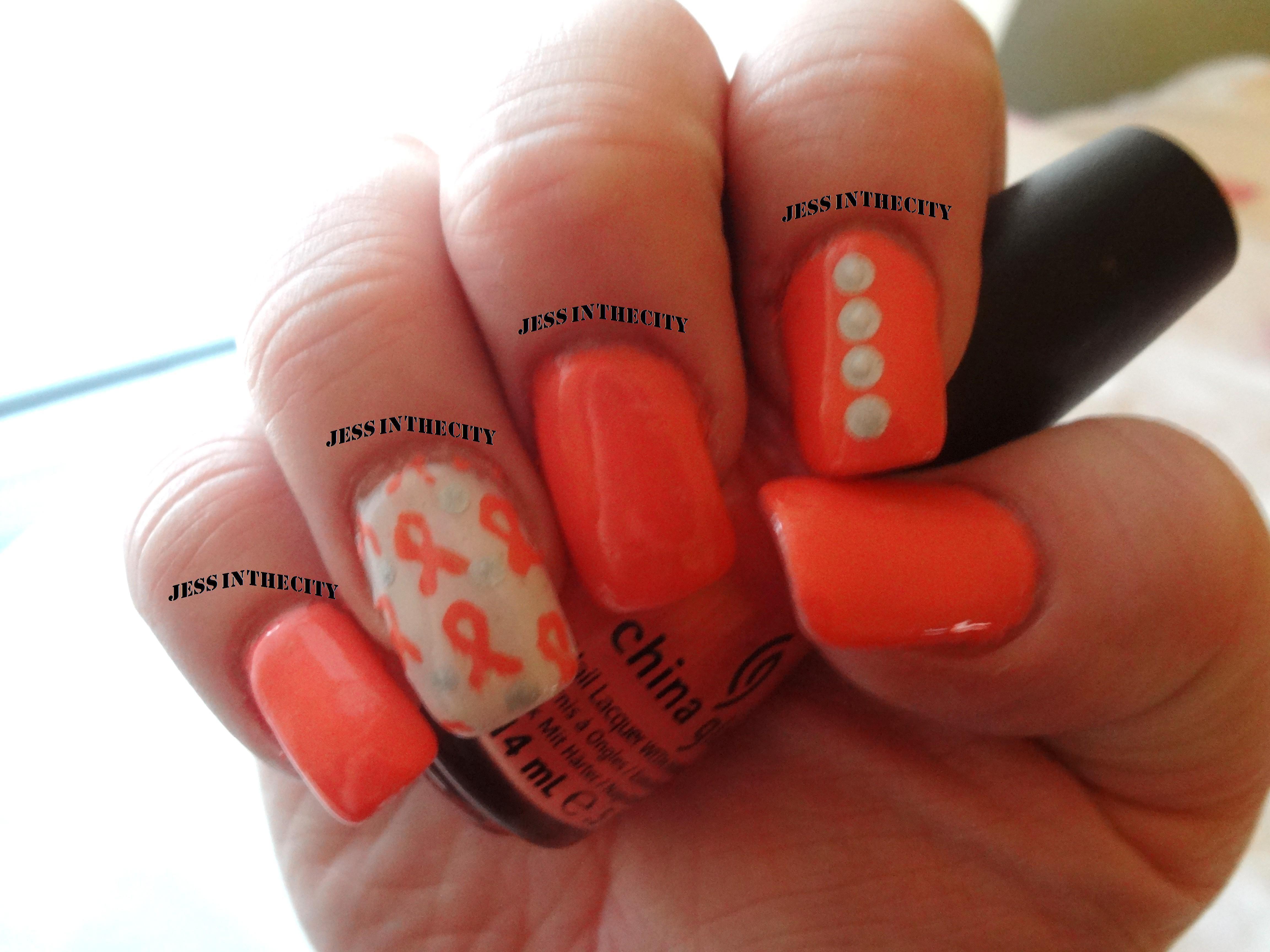 Nail Art - Awareness/Causes: MS (Multiple Sclerosis) Awareness ...