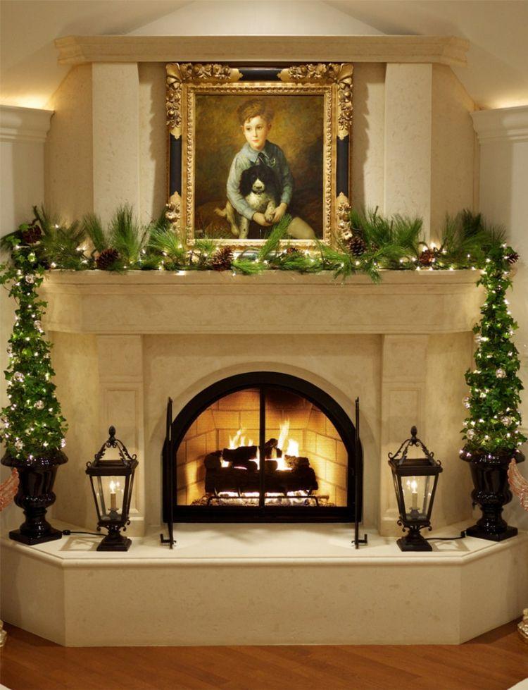 Motivos navide os para decorar la chimenea m s de 50 - La chimenea decoracion ...