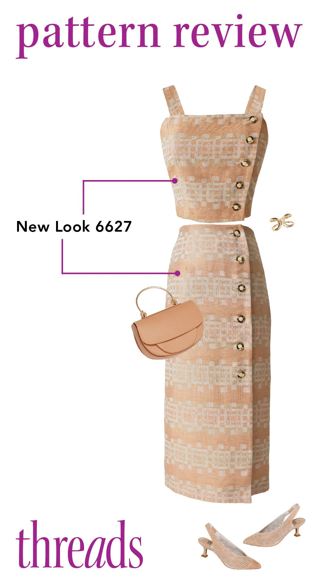 Pattern Review New Look 6627 Three Piece Ensemble In 2020