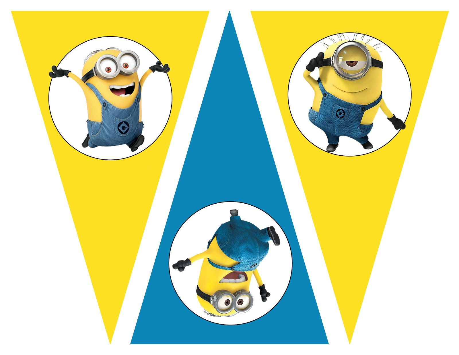 Free Despicable me party printables birthday party theme free