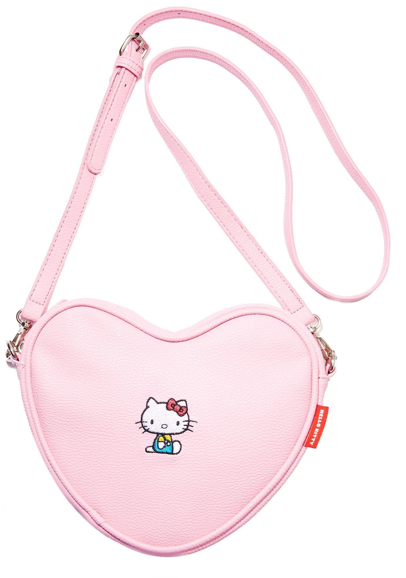 89fff7d1b Hello Kitty Soft Heart Bag | Mignons Sacs | Bags, Soft heart, Cute ...
