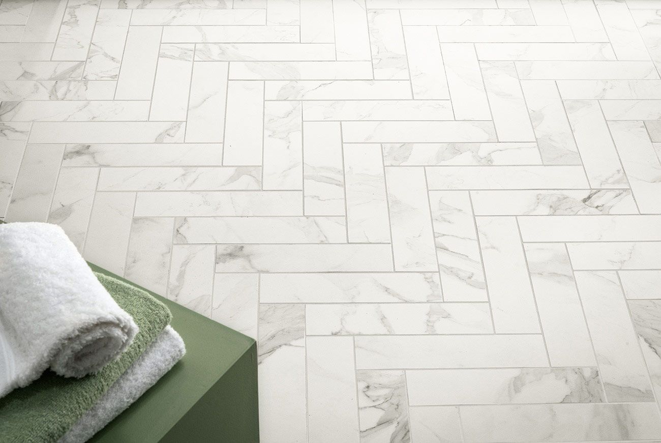Pretty 12X12 Floor Tile Big 12X24 Ceramic Floor Tile Clean 18 Ceramic Tile 20 X 20 Floor Tile Patterns Old 2X4 White Subway Tile Coloured3X6 Beveled Subway Tile Calacatta Ceramic Tile In Herringbone... | Feels Like Home ..