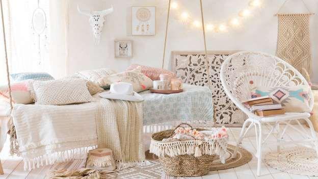 Traslada todo el espíritu hippy a tu dormitorio con estos complementos de Maisons du Monde (maisonsd... - Externa