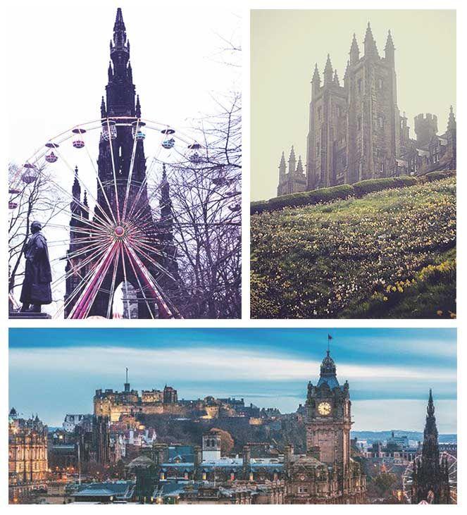 De hoofdstad van #Schotland... #Edinburgh! #TravelBird