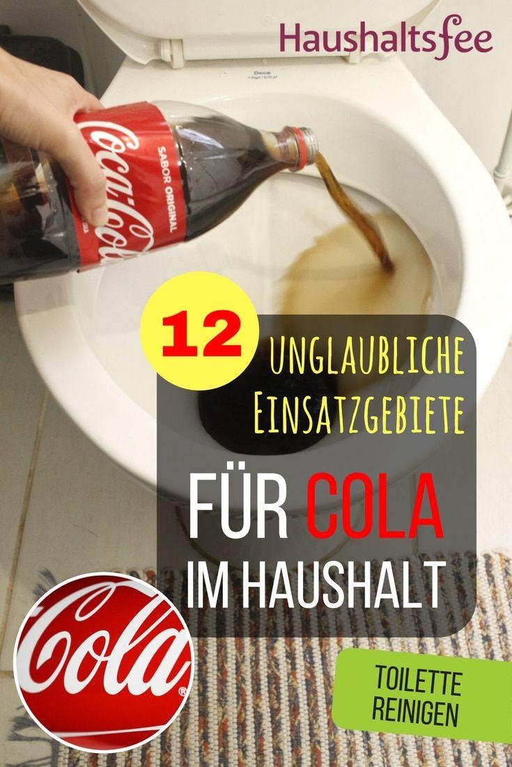 12 Möglichkeiten, Cola im Haushalt zu nutzen | Pinterest