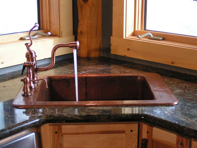 No window kitchen sink  undermount corner kitchen sink  custom kitchen island ideas check