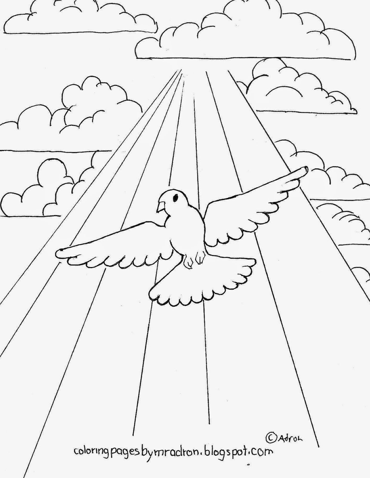 Dove of Peace coloring page. | clip art - doodling | Pinterest ...
