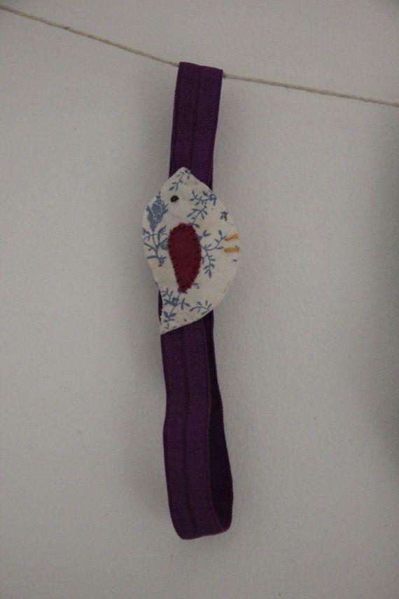 White bird with blue floral patten and dark by SecretSquirrel13, £2.50