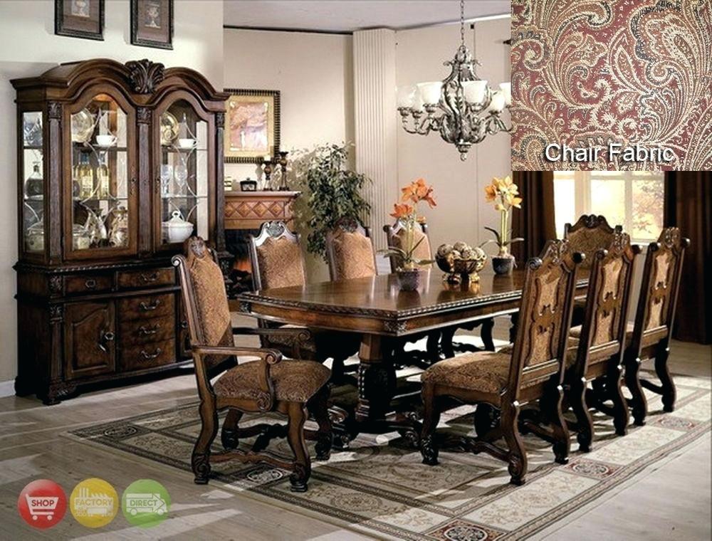 Formal Dining Room Furniture Sets, Modern Formal Dining Room Sets With China Cabinet