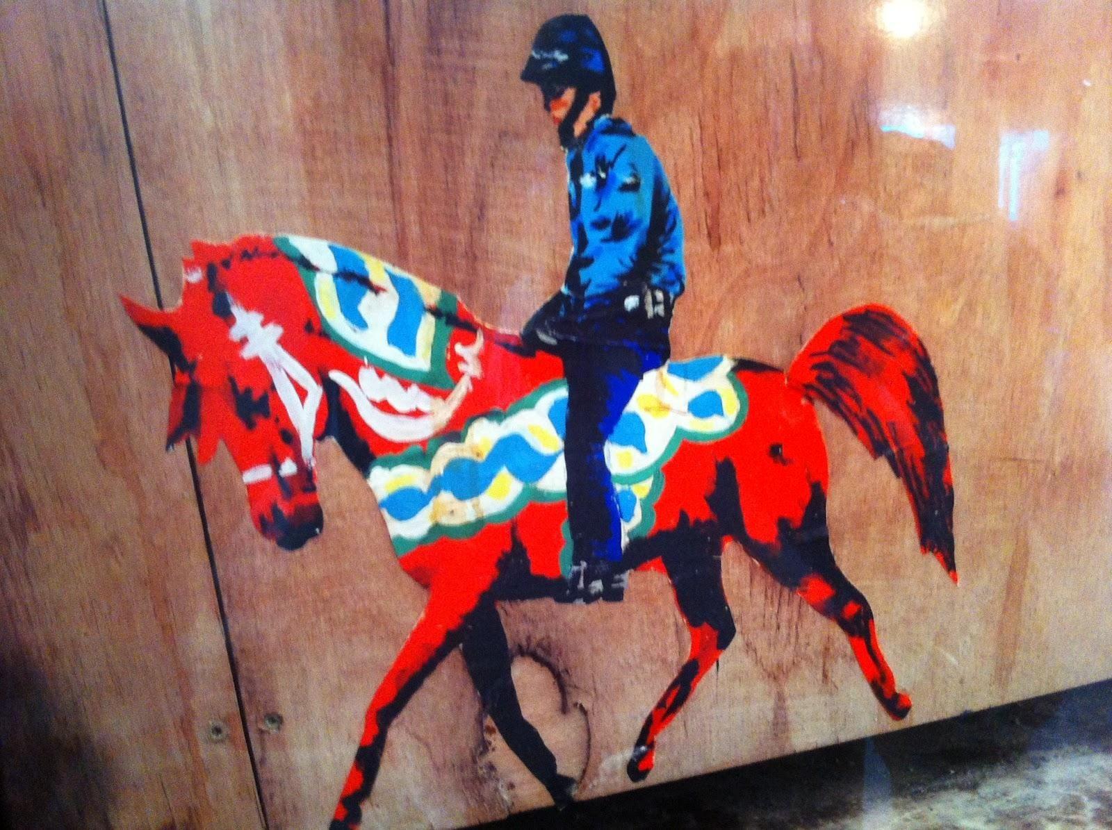 Dala Horse Shai Dahan Street Art 2012