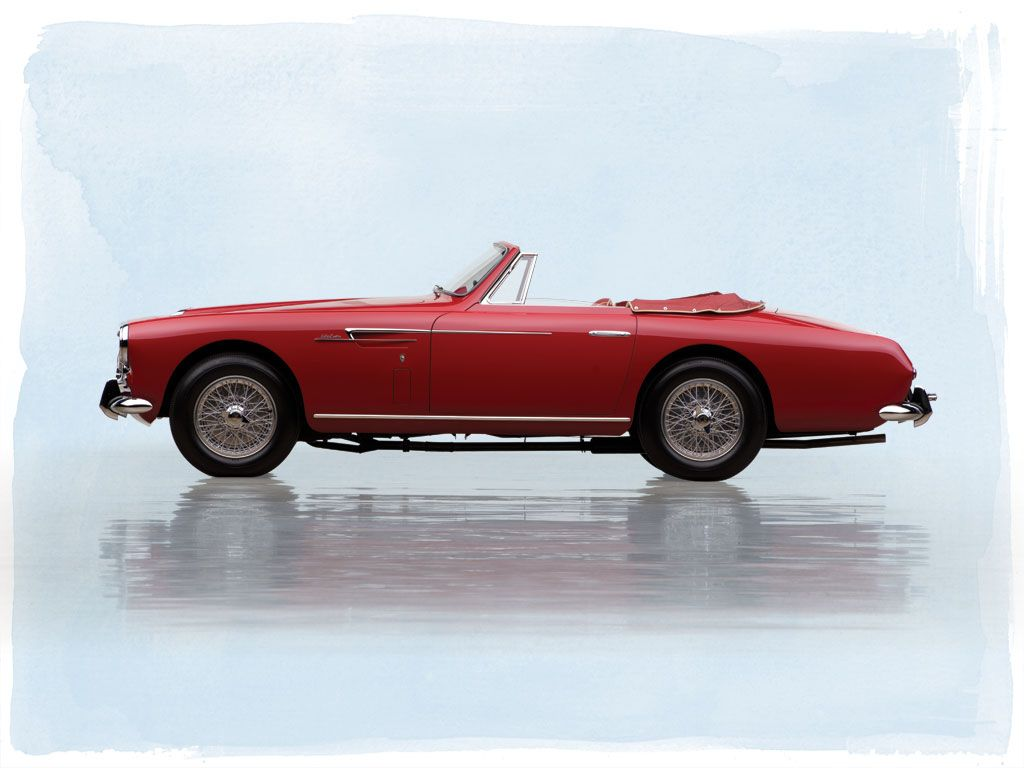 1953 Aston Martin DB2/4 Drophead Coupe by Bertone | The Andrews Collection 2015 | RM Sotheby's